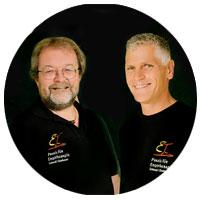 Peter Schinagl und Johannes Zinnbauer